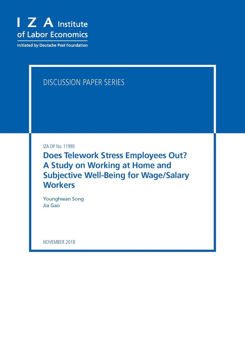 does telehework stress employees outpic page 01