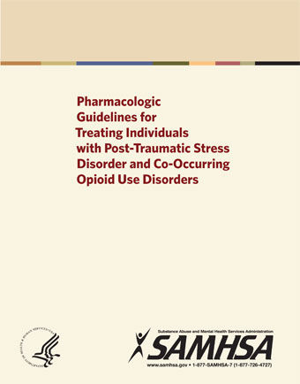 pharmacologic guidelines for treating individuals with post traumatic stress disorder and co occurring opioid use disorders pic