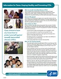 Staying Healthy and Preventing STDs