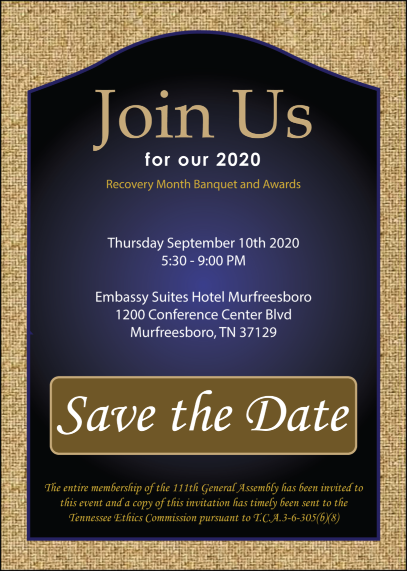 banquet save the date 2020