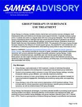 advisory group therapy in substance use treatment pic