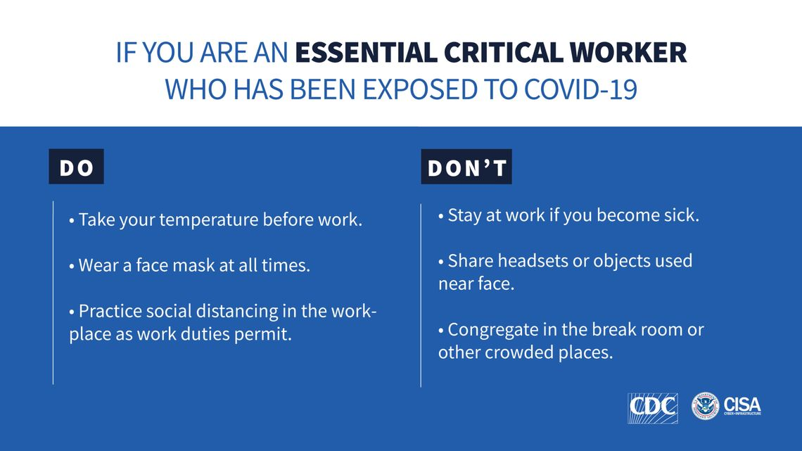 essential critical workers dos and dontspic page 1
