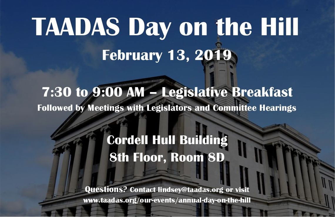 taadas day on the hill 2019 flyer