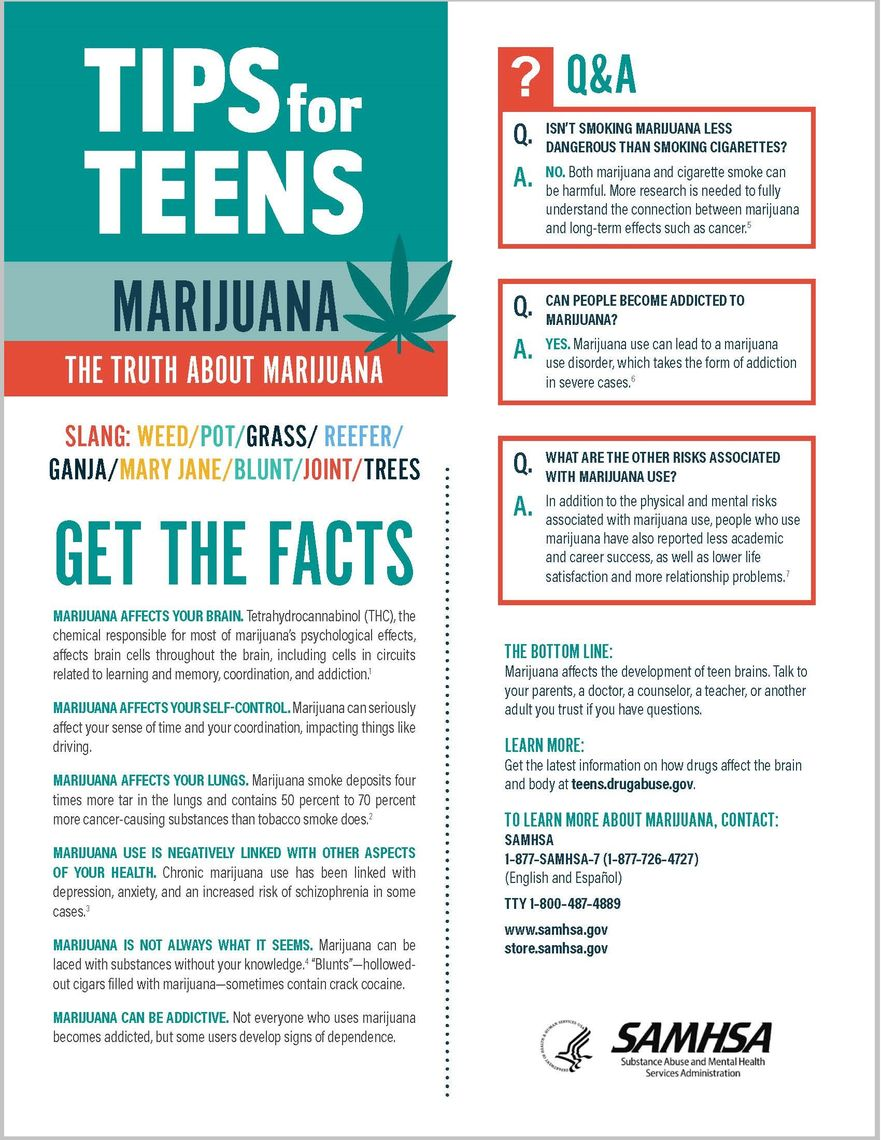 tips for teens the truth about marijuana