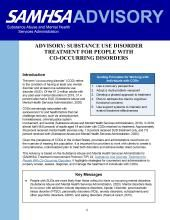 advisory substance use disorder treatment for people with co occurring disorders pic