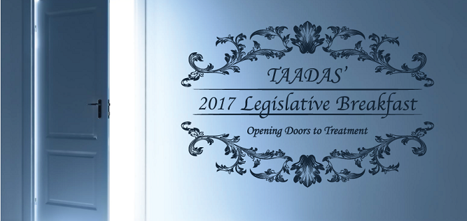 TAADAS 2017 Legislative Breakfast