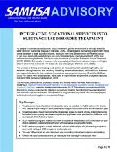 advisory integrating vocational services into substance use disorder treatment pic