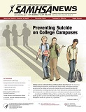 Samhsa News Preventing Suicide on College Campuses
